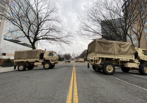 25mila soldati all'inaugurazione chiusa di Biden. Primi passi verso un governo militarizzato?
