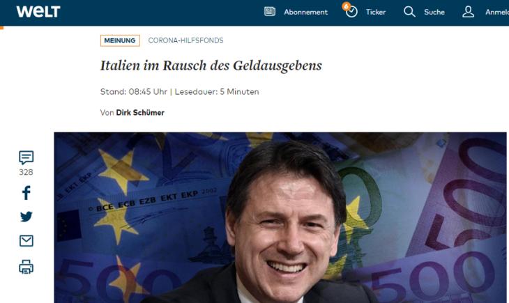 L'ENORME DISPREZZO DELLA GERMANIA PER I POLITICI ITALIANI . Il leccaculismo dei vanitosi ottiene solo disprezzo.