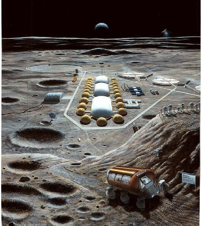 Base lunare congiunta Cino Russa