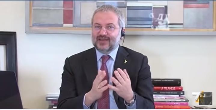 CLaudio Borghi Vs Daniele Franco: crescita e debito, un passo avanti. Ed il debito del RRF…..