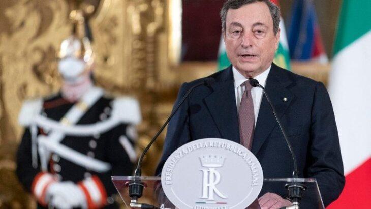 Il discorso integrale del presidente del Consiglio, Mario Draghi
