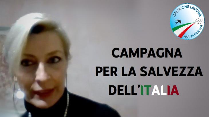 CAMPAGNA PER LA SALVEZZA ECONOMICA DELL'ITALIA