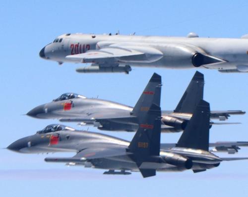 Cina Vs USA: Aerei cinesi ed americani si affrontano nei pressi di Taiwan