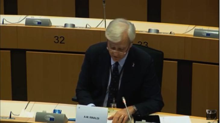 """Rinaldi: la minaccia di dover applicare le norme del """"Semestre europeo"""" hanno impedito all'Italia di fare quello che doveva per i propri cittadini"""