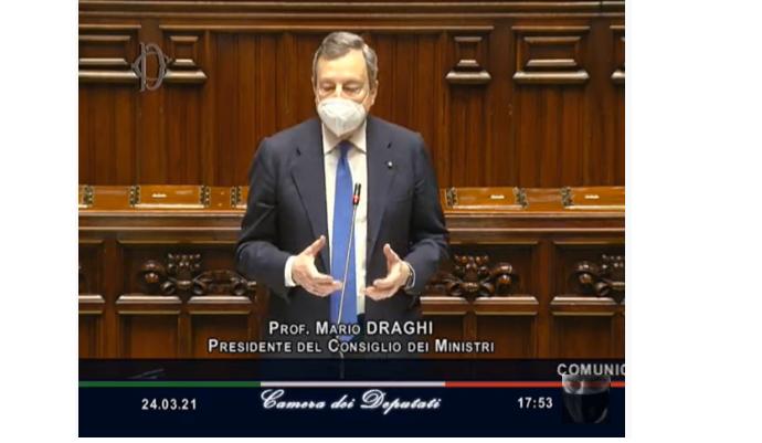 """Mario Draghi: """"Il mercato Unico  NON è la risposta a disuguaglianza e disoccupazione. W la sovranità digitale"""