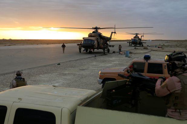 10 missili contro una base USA in Iraq, a pochi giorni dalla visita del Papa nella zona