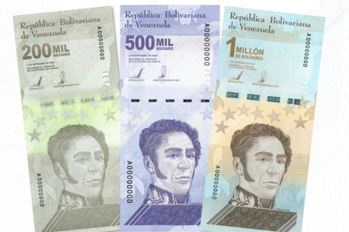 Potreste guadagnare … un milione di Bolivar!! Emesse tre nuove banconote in Venezuela, che non valgono nulla