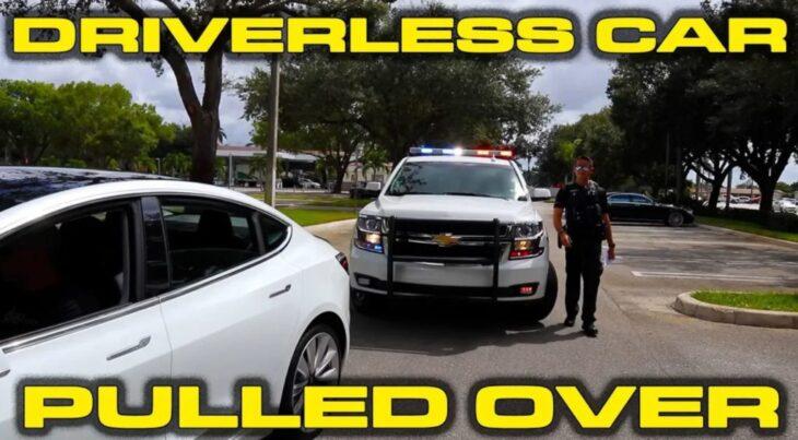 Le auto a guida autonoma saranno controllabili dalla Polizia..