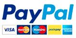 Pay paypal carte di credito postepay logos