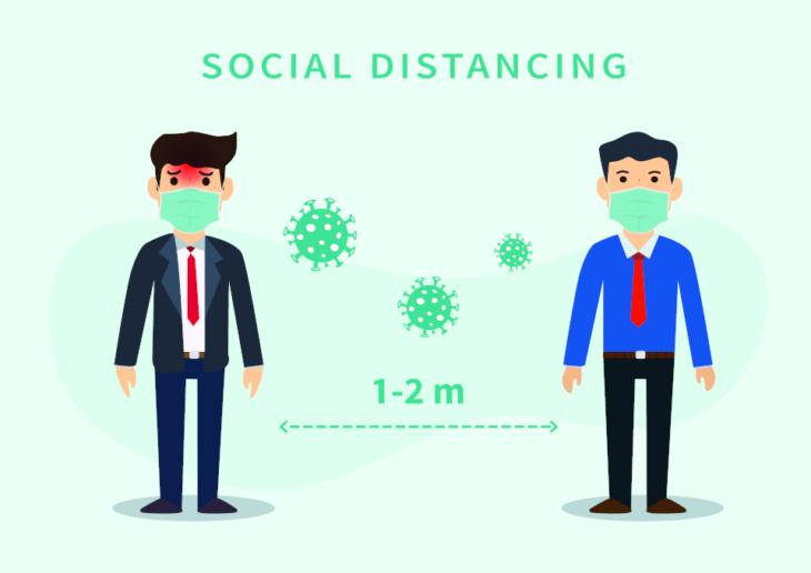 Le regole di distanziamento sociale? Inutili. Nuovo studio lo dice chiaramente
