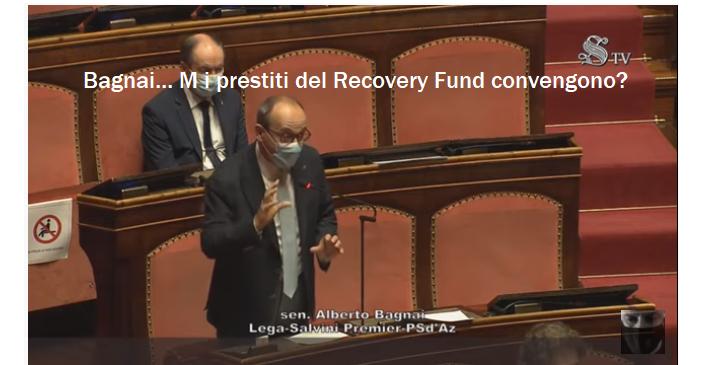 Bagnai: ma i prestiti del Recovery Fund convengono?