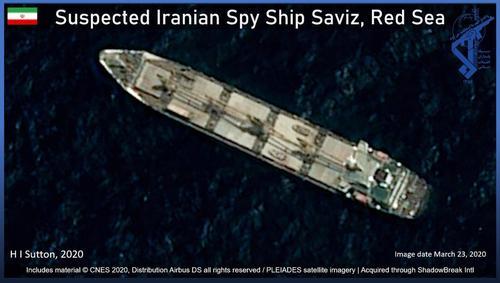 Mine nel Mar Rosso: colpita nave spia iraniana