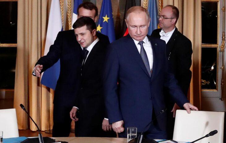 Zelensky invita Putin ad un incontro nella zona contesa del Donbass