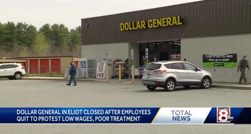 Effetti delle paghe reali troppo basse: tutti i dipendenti di un punto vendita si licenziano e lo chiudono