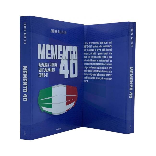 """""""Memento 40"""": il libro sulla memoria storica dell'era del Covid"""