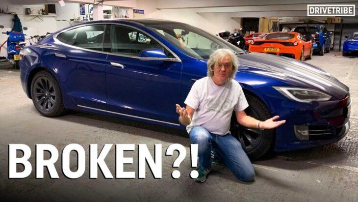 Quando anche James May (Top Gear) resta a piedi con la Tesla….