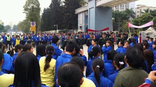 Morire di Stage lavorativo in Cina. Il lavoro forzato nelle scuole