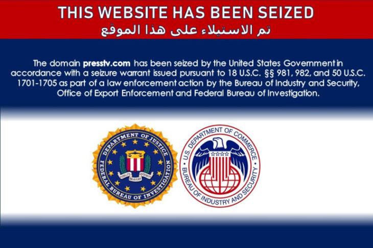 Gli USA sequestrano molti siti web riconducibili all'Iran. Offensiva contro Teheran?