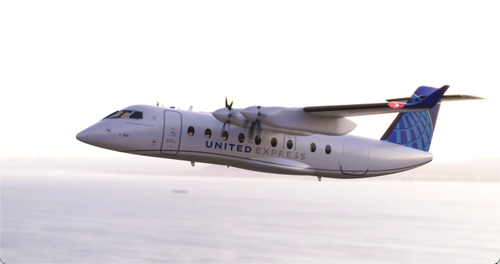 United compra 100 aerei elettrici che non esistono. Sarà una bolla magnifica