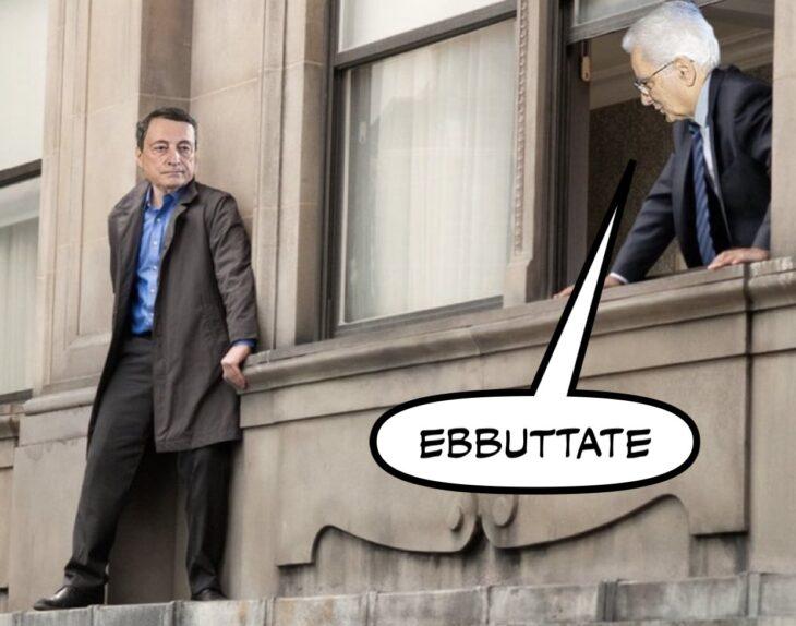 Se Draghi si dimettesse davvero? Arrivano i Colonnelli?