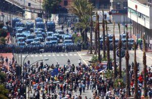 Manifestazioni al G8 di Genova nel 2001