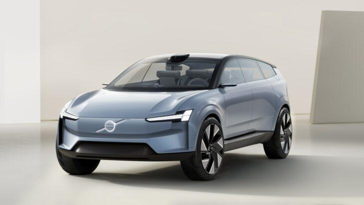 La Concept Car di Volvo, che sarà solo elettrica dal 2030