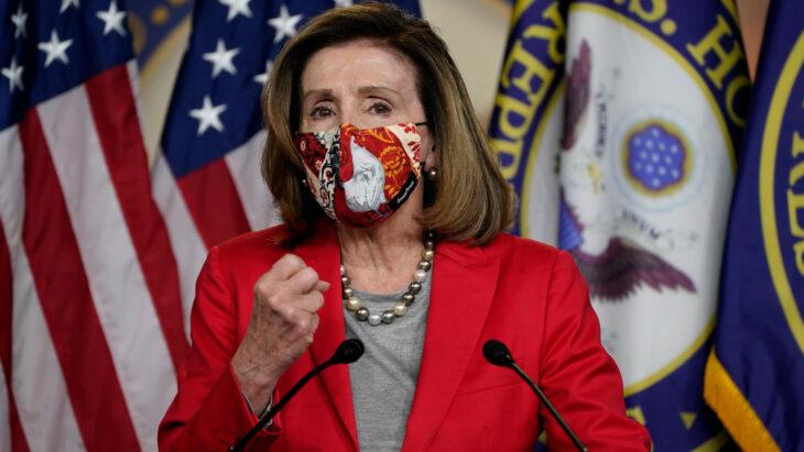 Nancy Pelosi vuole l'arresto per chi non porta la mascherina nella Camera USA. I deputati protestano…. al Senato