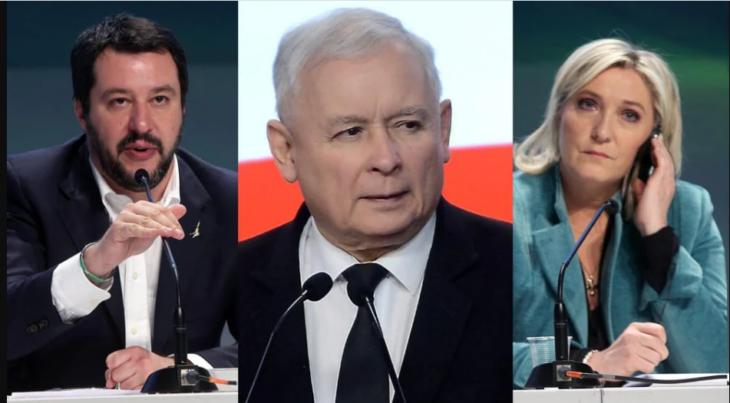 Orban, Salvini, Le Pen e Meloni uniscono le forze per l'Europa nelle nazioni e delle libertà