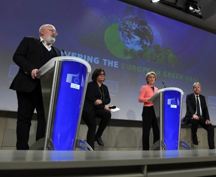 Presentate le leggi del Green Deal: la vittoria della speranza sulla realtà, che farà ogni europeo molto più povero
