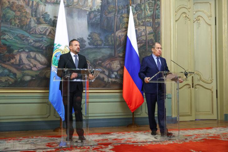 Se San Marino conta più dell'Italia: Lavrov loda l'indipendenza della Repubblica del Titano