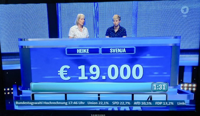 Quando la TV tedesca manda già in onda (per sbaglio) i risultati elettorali…..