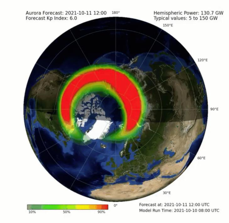 Tempesta geomagnetica in arrivo, e potrebbe non essere solo una questione di aurora boreale