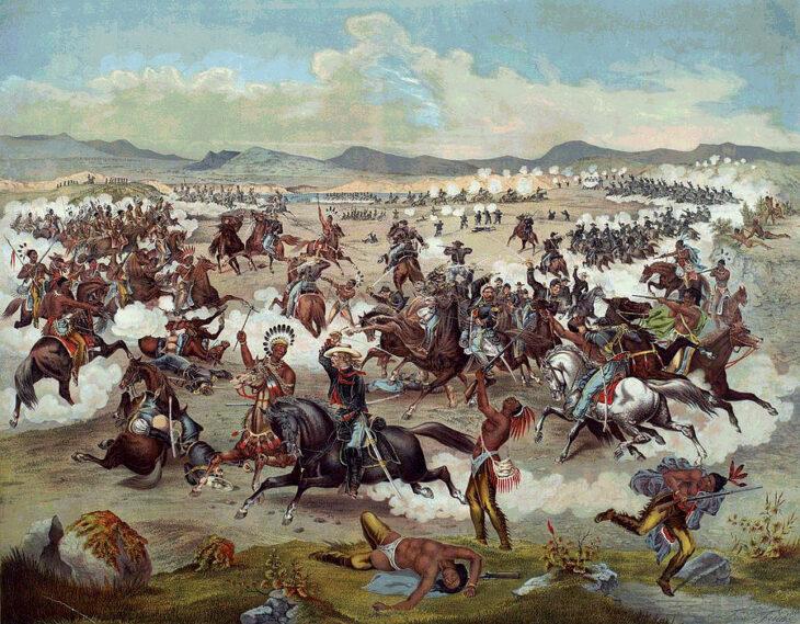 La strategia di Custer applicata in Italia: sei una minoranza, magari a Trieste, allora penso di schiacciarti. Salvo poi..