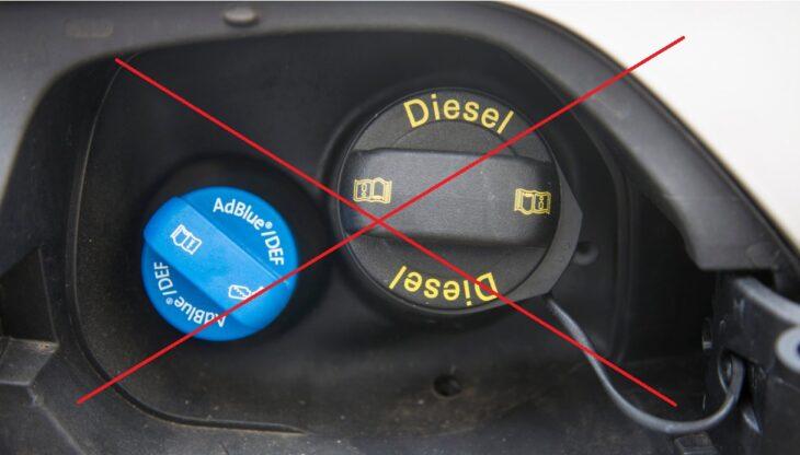Diesel: pericolo di stop anche in Italia per le auto con AD Blue. Causa, la crisi energetica..
